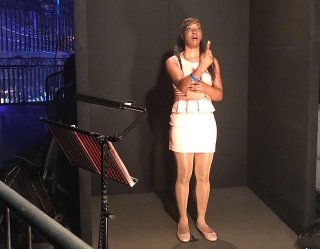 Dionne Thomas BSL Interpreter