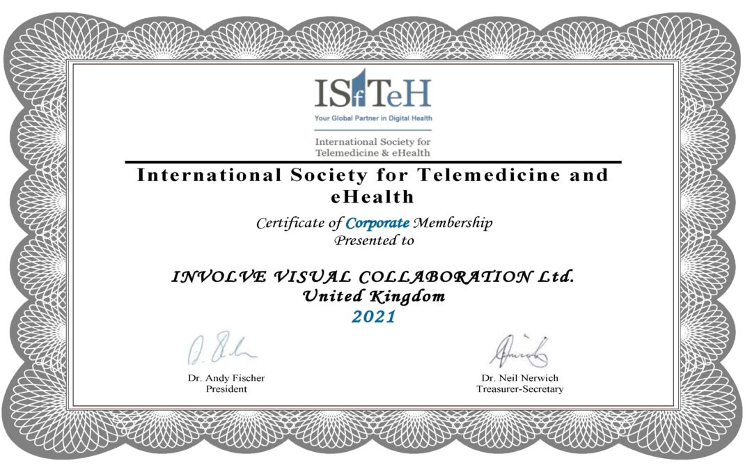 Involve are proud to have become a corporate member the ISfTeH network